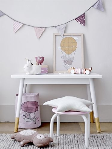 Kindertisch aus Holz, weiß Kinder möbel, Kindertisch und