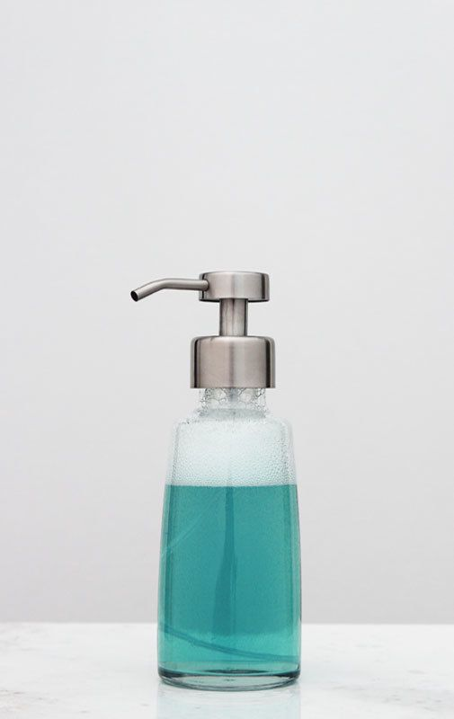 Coastal Glass Foaming Soap Dispensers | Foam Soap Dispensers | RAIL19 |  Www.rail19.com Bathroom Design | Kitchen Sink Soap Dispensers | Kitchen  Decor ...