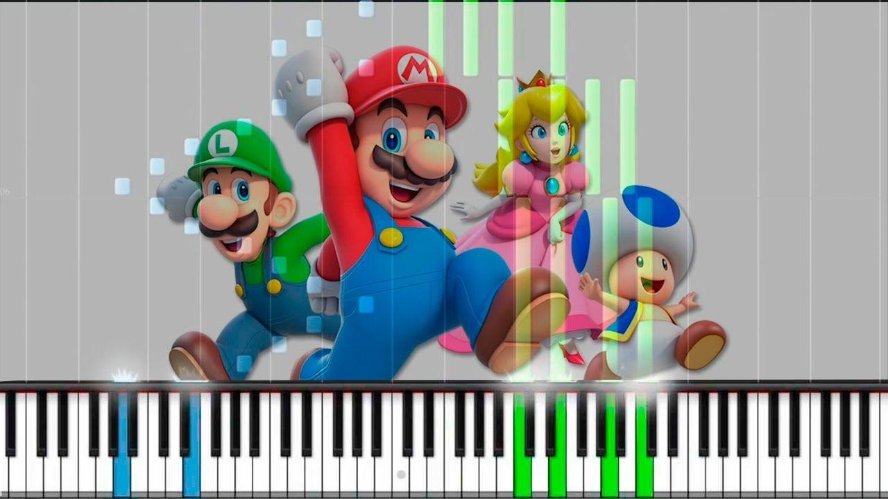 🎹 Super Mario Land 🎹 Birabuto Kingdom Theme | Piano Tutorial Synthesia