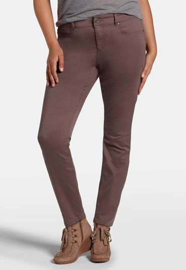 denim flex � plus size jegging in sarsaparilla (original price, $39) available at #Maurices
