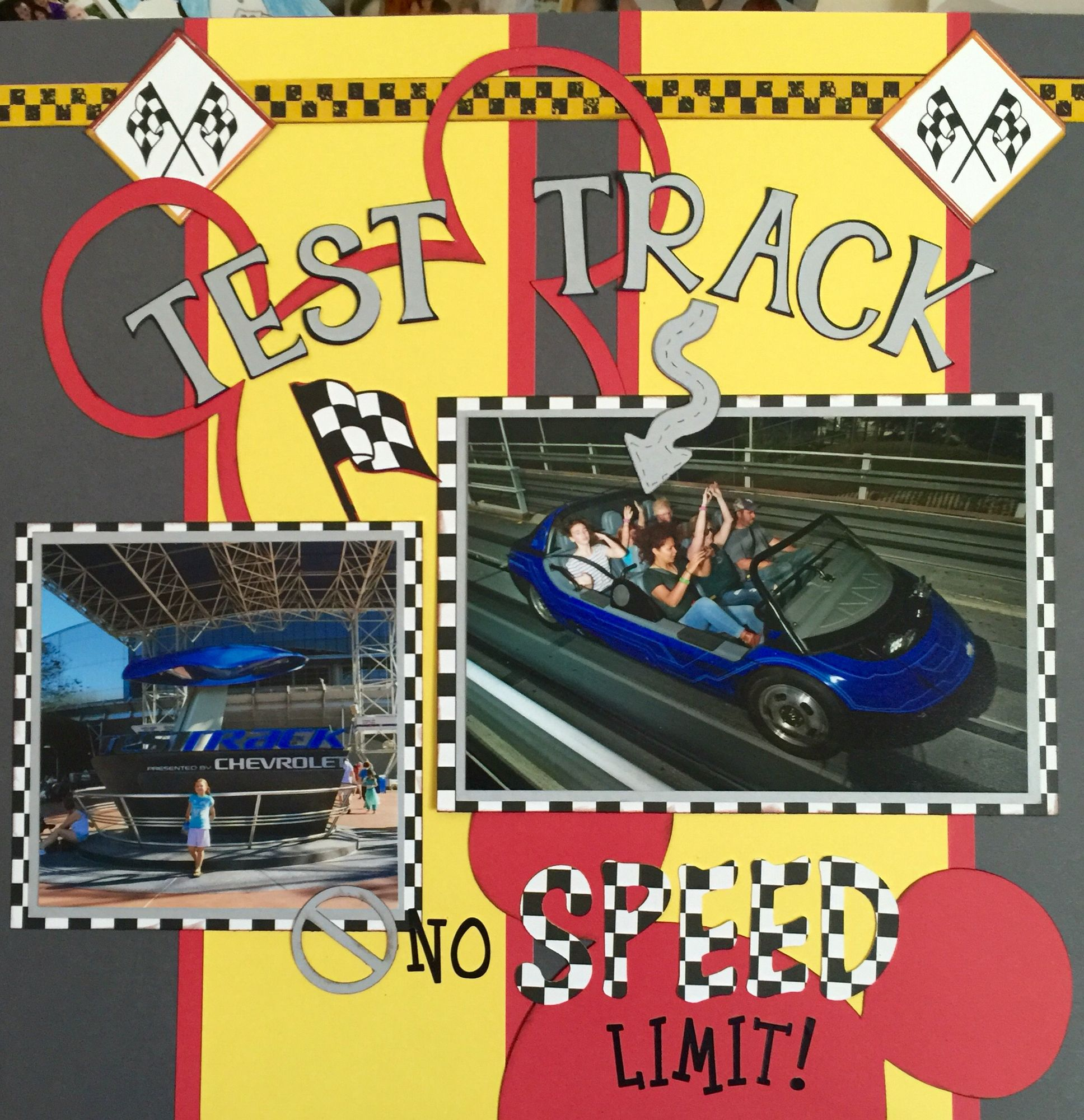 Test Track layout