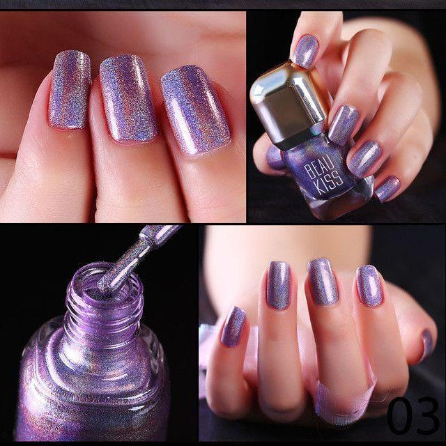 GLIMPSE holographic nail polish 1pc 12ml big bottle diamond Laser ...