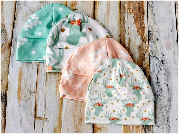 7b1a211173f DIY Baby Hat Sewing Pattern and Tutorial in sizes Preemie - 12 Months. —  Coral   Co.Coral   Co.