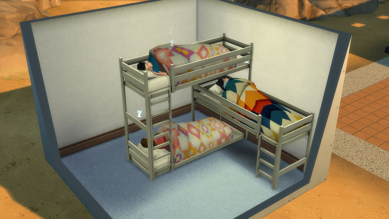 Functional bunk beds for the TS4 by necrodog. You can