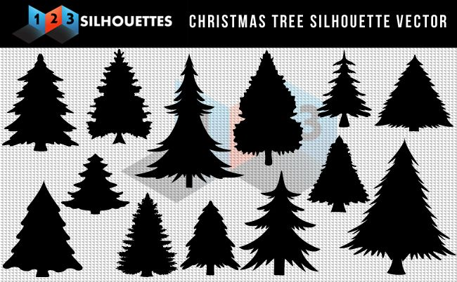 Christmas Tree Silhouette Free Download Awesome Grand Xmas Silhouettefree Vector Silhouette Grap Christmas Tree Silhouette Silhouette Christmas Tree Silhouette