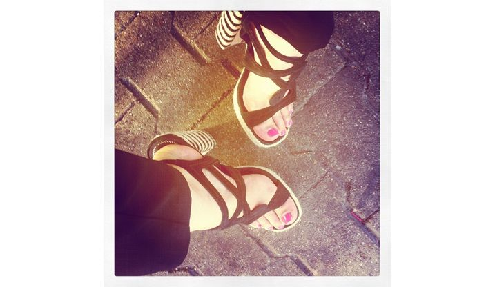 Fußschutz Schutz bei Frauen / Damenfüßen schöne Füße