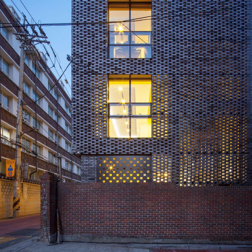 Gallery Of Brick-mesh    Theplus Architects