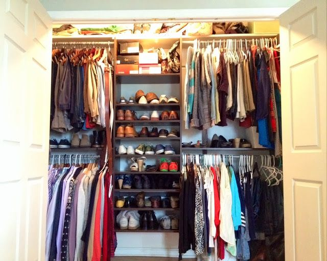 Bon Two It Yourself: Best {Small} Closet System To Maximize Organization And  Space