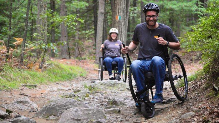 The Grit Freedom Chair Takes The Wheelchair Mountain Biking Mit