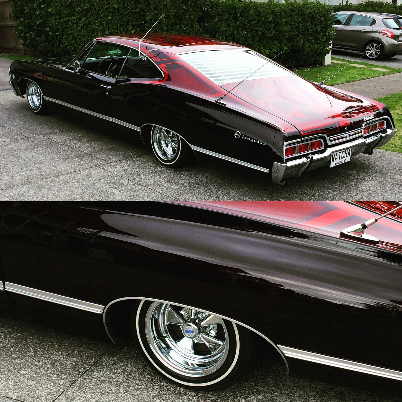1967 Impala From Carnales New Zealand #cragars #lowrider