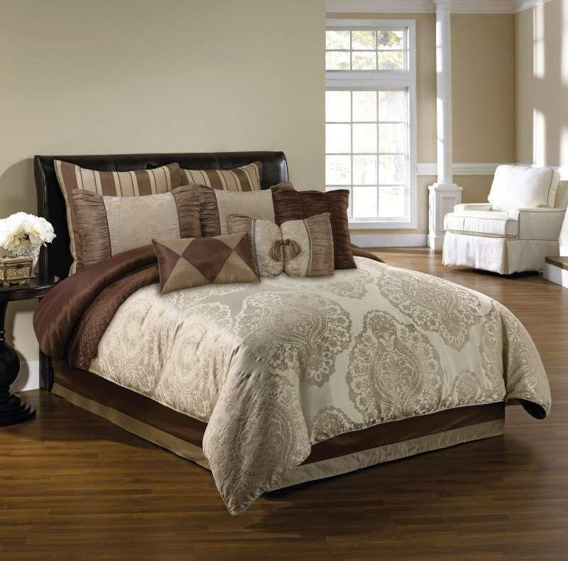 Master Bedroom Staging Ideas: Decadence Comforter Set By Hallmart
