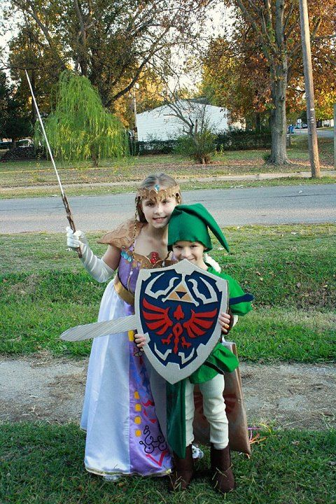 Legend of Zelda Link and Princess Zelda Kid Cosplay on Global Geek News. & Legend of Zelda Link and Princess Zelda Kid Cosplay on Global Geek ...