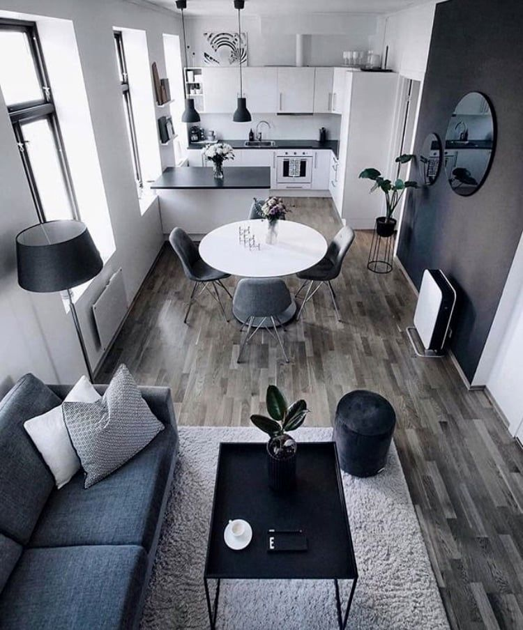Have A Look At This Perfect Apartment Idea Over There Small Apartment Interior Small Living Room Decor Small Apartment Living Room