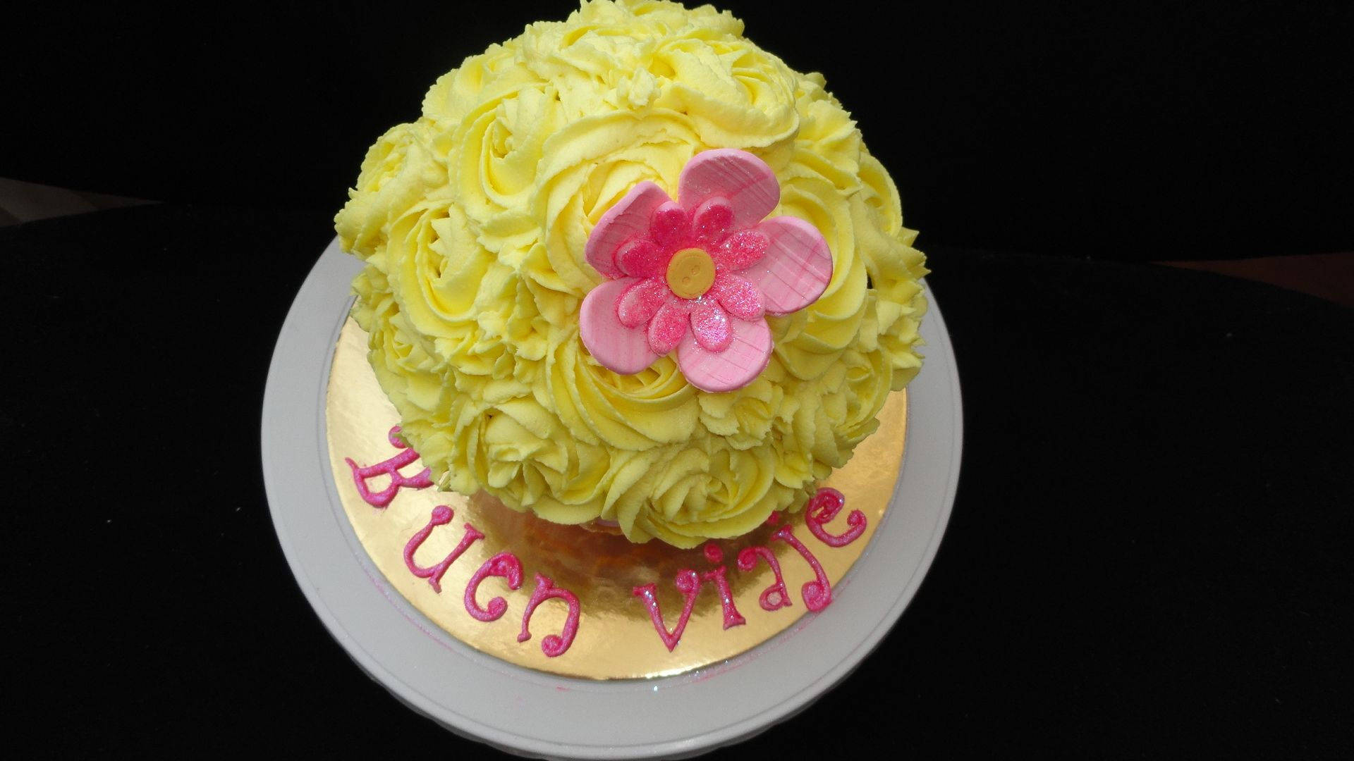 Cupcake Gigante Flor