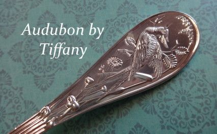 Antique Cupboard is THE place to find sterling silver flatware, and  silverware. - Audubon By Tiffany - Sterling SILVER Pinterest Flatware