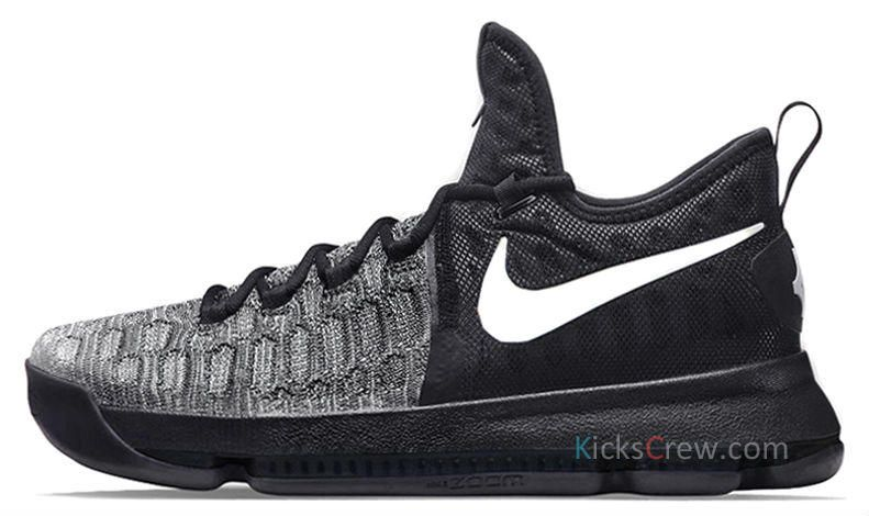 timeless design 7ec75 117db First Look At The Nike KD 9 Black   White