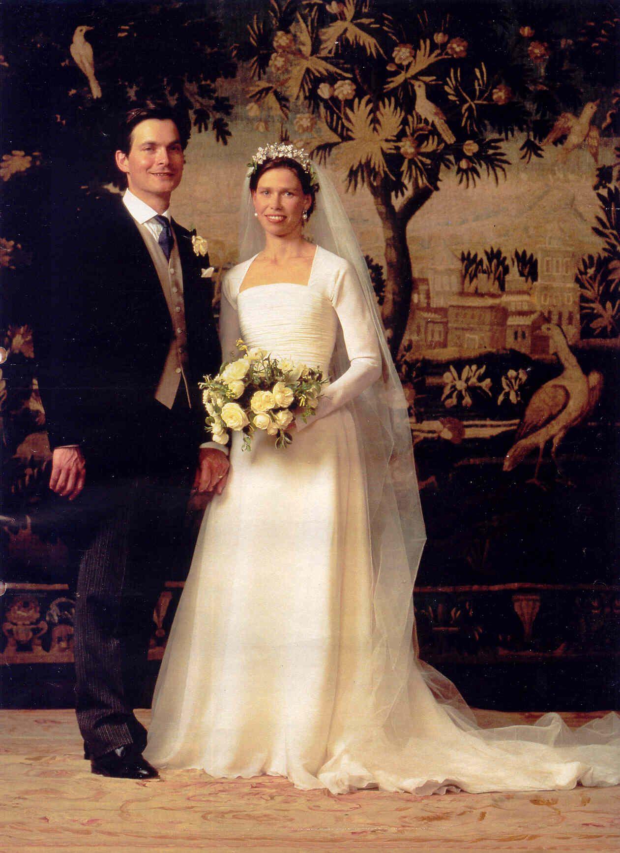 Inglaterra - 1994 Sara  Mejía de la Princesa Margarita, y Daniel Chatto