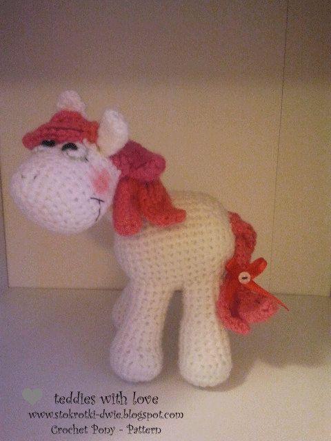 Gehäkelte Pony - Muster-Dokument PDF #crochetpony
