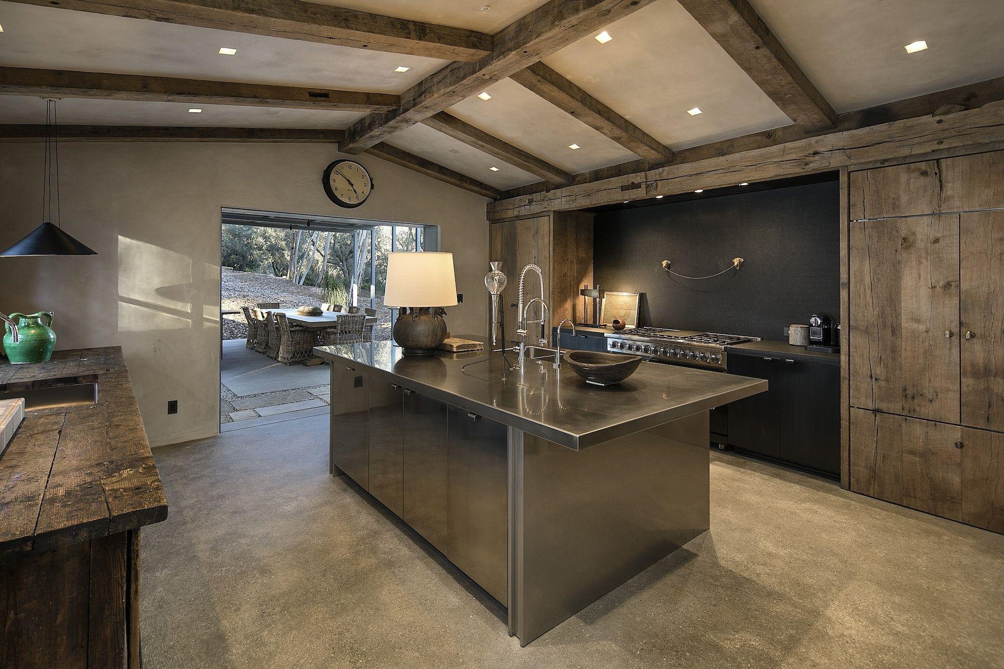 La casa de Ellen DeGeneres en Santa Barbara Junto al porche