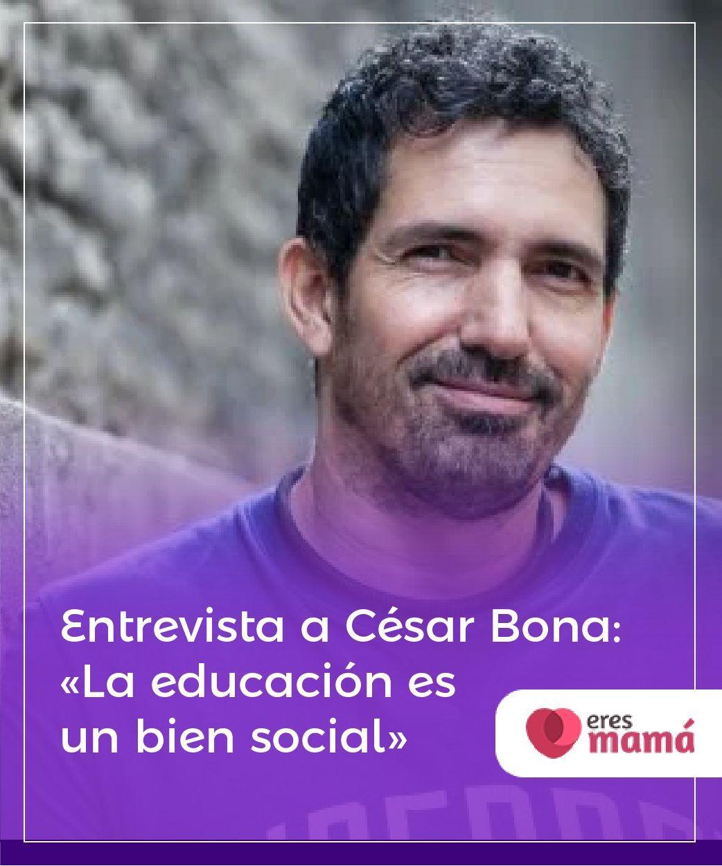#Entrevista a #César #Bona: La #educación es un #bien #social La educación es un bien social con el que tenemos que crecer juntos. El maestro César Bona nos habla del tema desde su experiencia.
