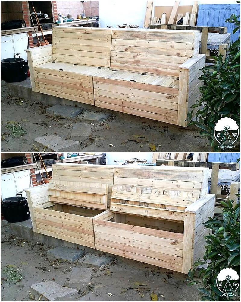 Ways Of Turning Pallets Awesome Furniture Pallet