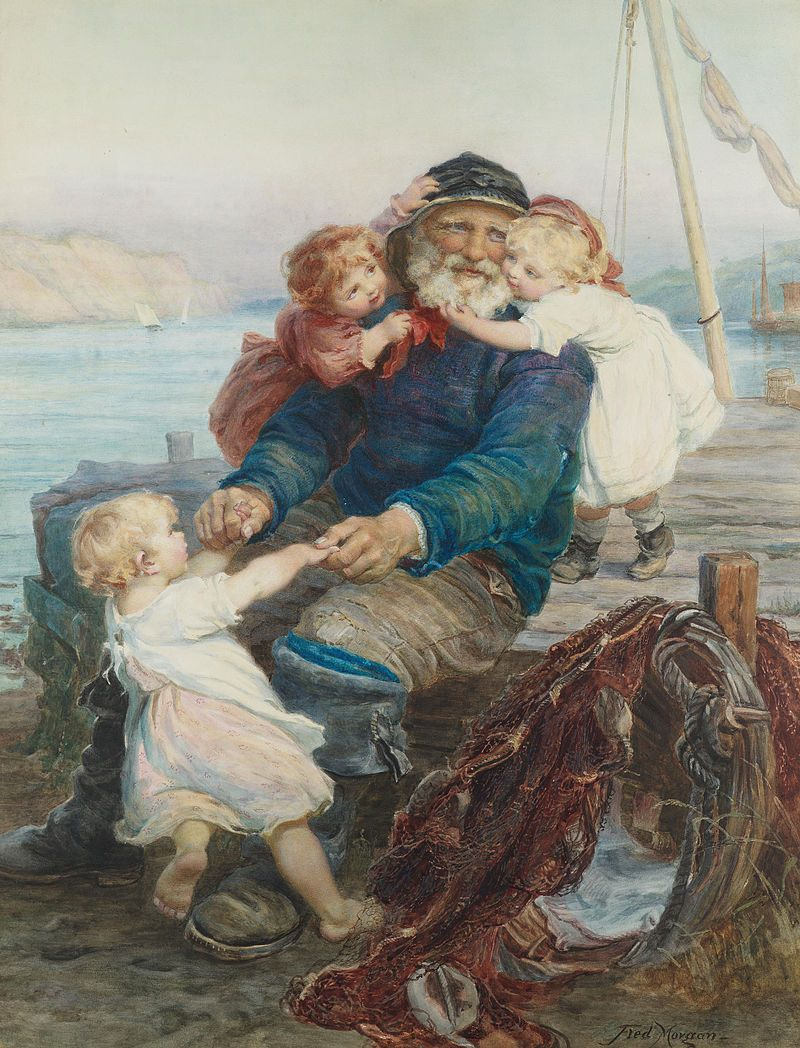 Frederick Morgan - Which do you love best