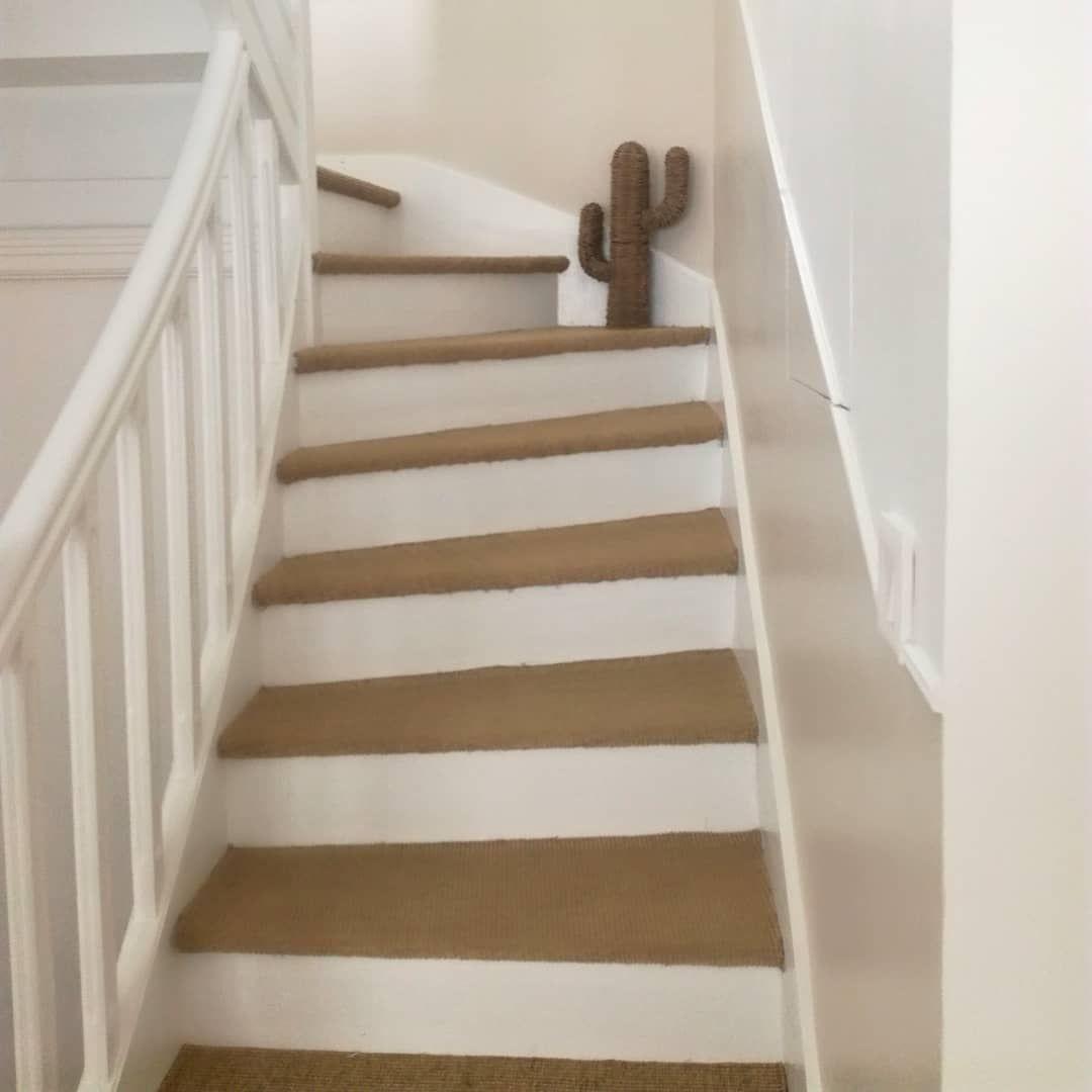Escalier Blanc Jonc De Mer Jonc De Mer Escalier Escalier Blanc