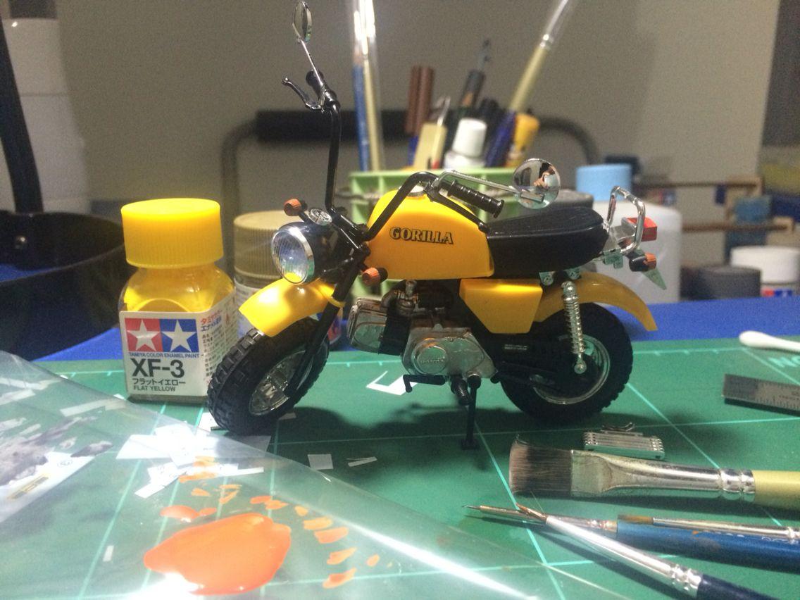 My First Motorcycle Kit 1 12 Honda Z50 Gorilla By Aoshima