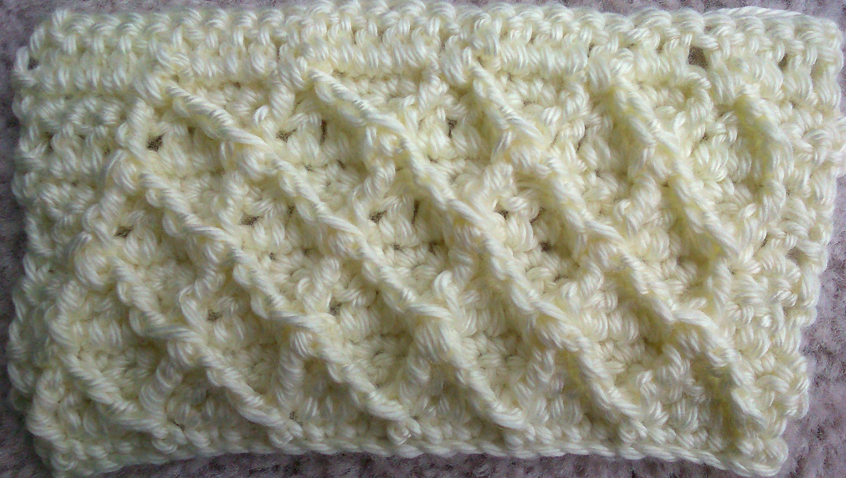 Crochet diamond checkers stitch pattern tutorial knitting and crochet diamond checkers stitch pattern tutorial bankloansurffo Choice Image