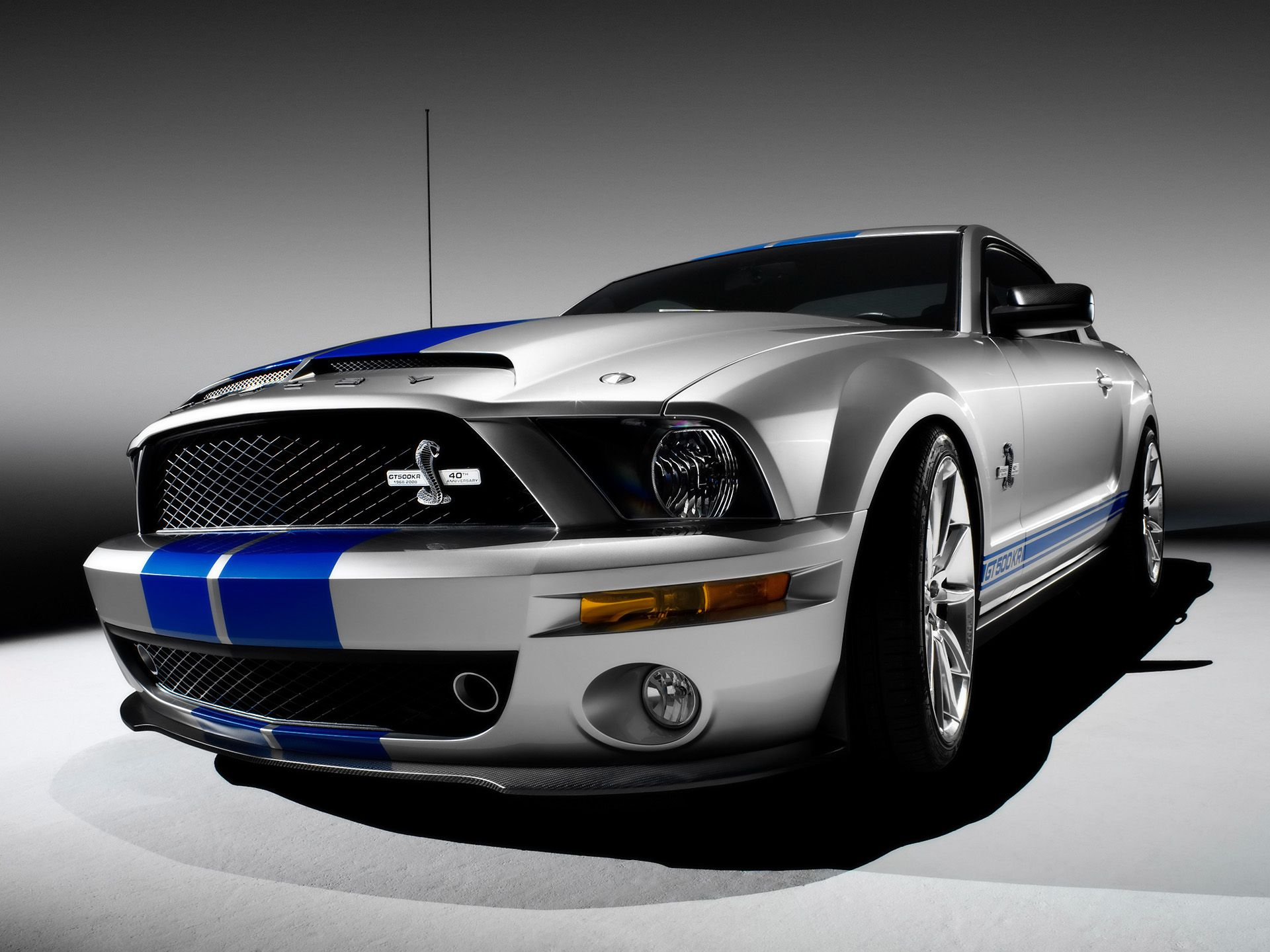 2008 ford mustang shelby gt500kr king of the road front angle 1920x1440 wallpaper