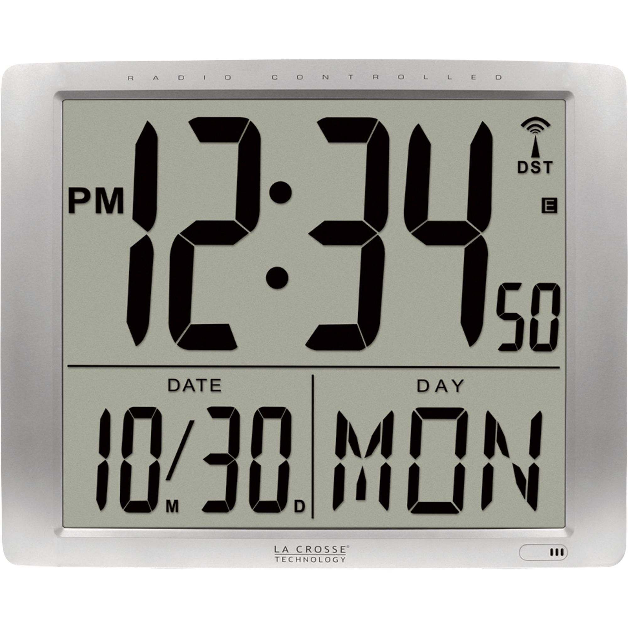 Battery Operated Digital Display Wall Clock | http ...