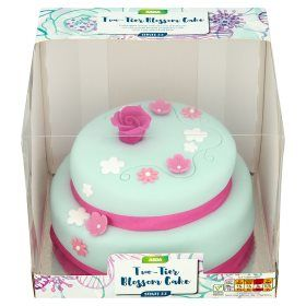 Asda Two Tier Blossom Cake