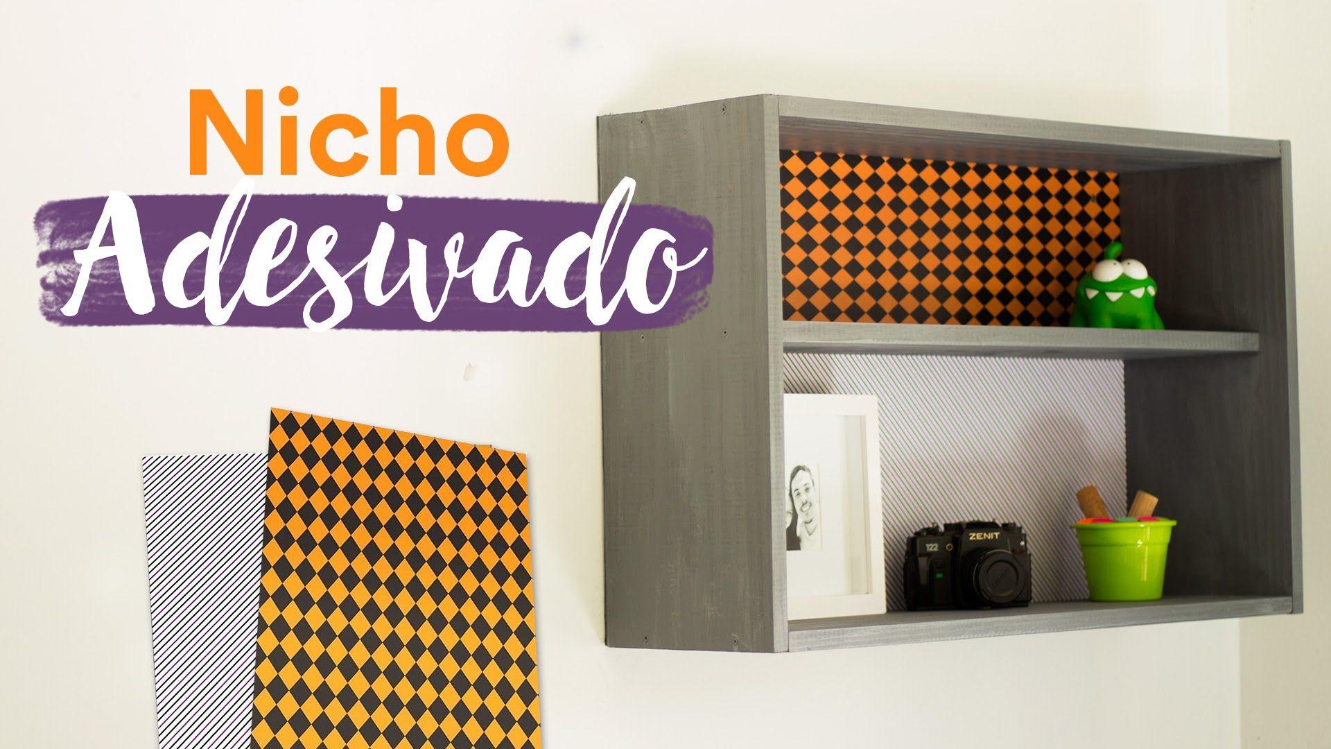 DIY - Nicho de Madeira Adesivado