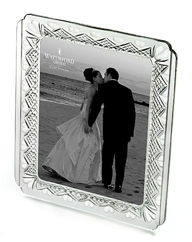 Waterford Crystal Wedding Heirloom 8x10 Picture Frame Pinterest