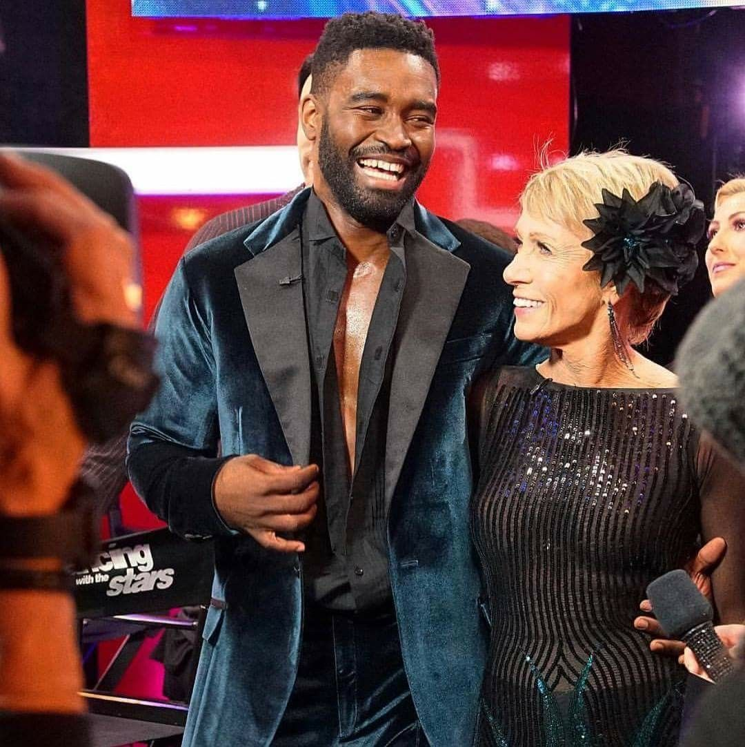 Keo Motsepe & Barbara Corcoran Dancing with the stars