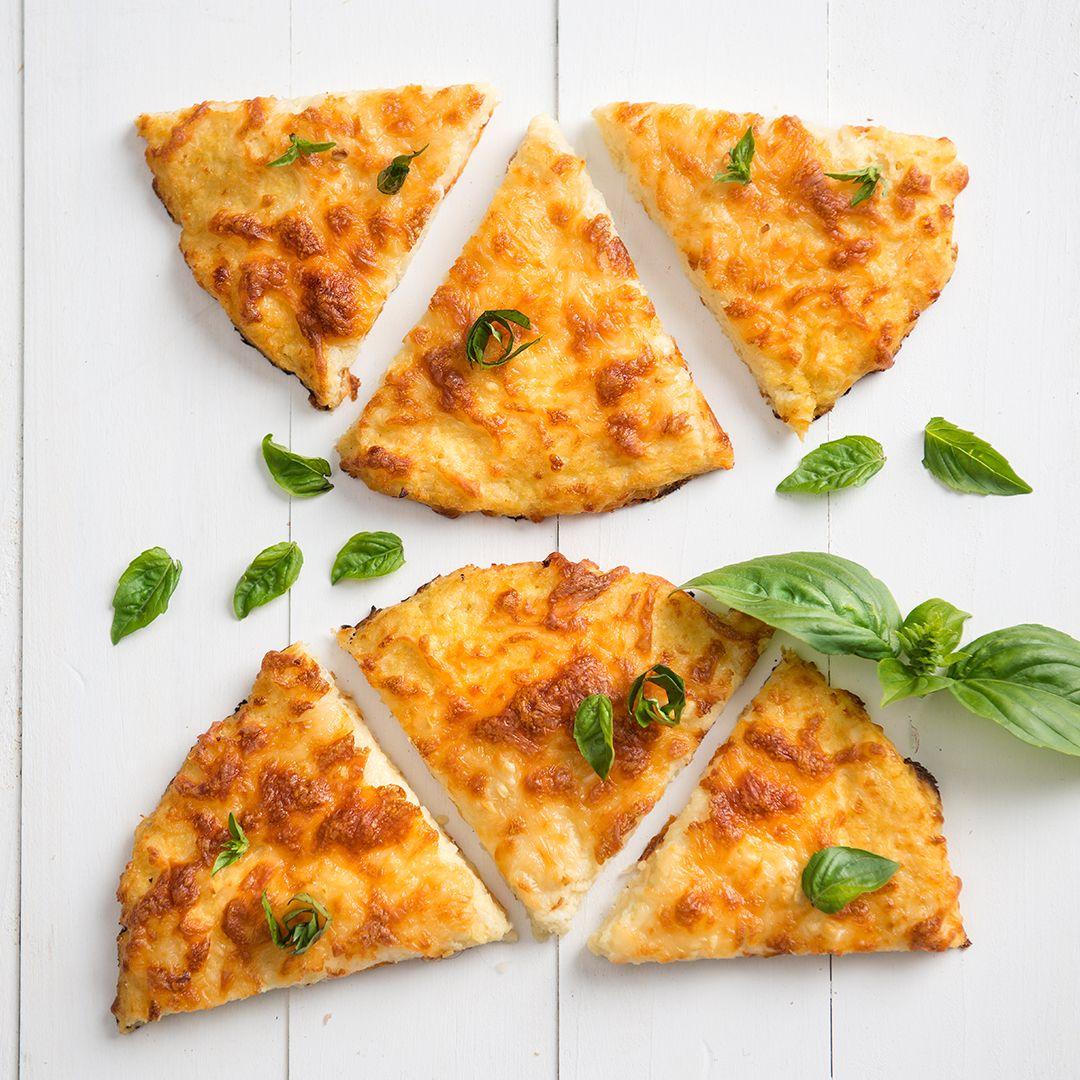 Cheesy Garlic Cauliflower Flatbread Recipe Food Recipes Food