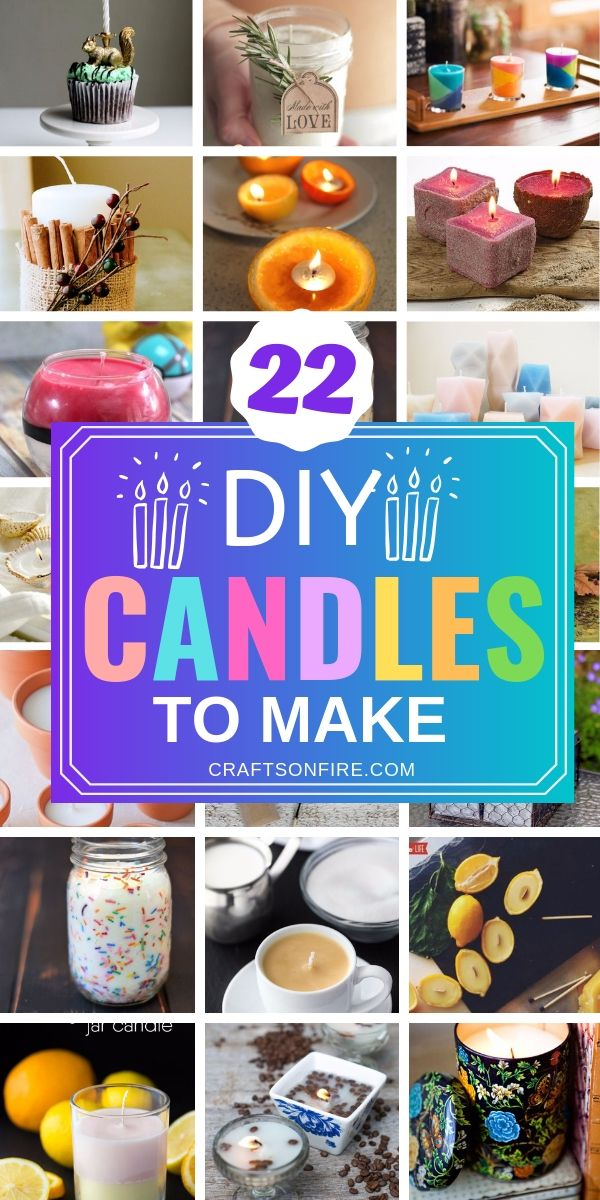 22 Best DIY Candles You Can Make And Sell #candlemakingbusiness