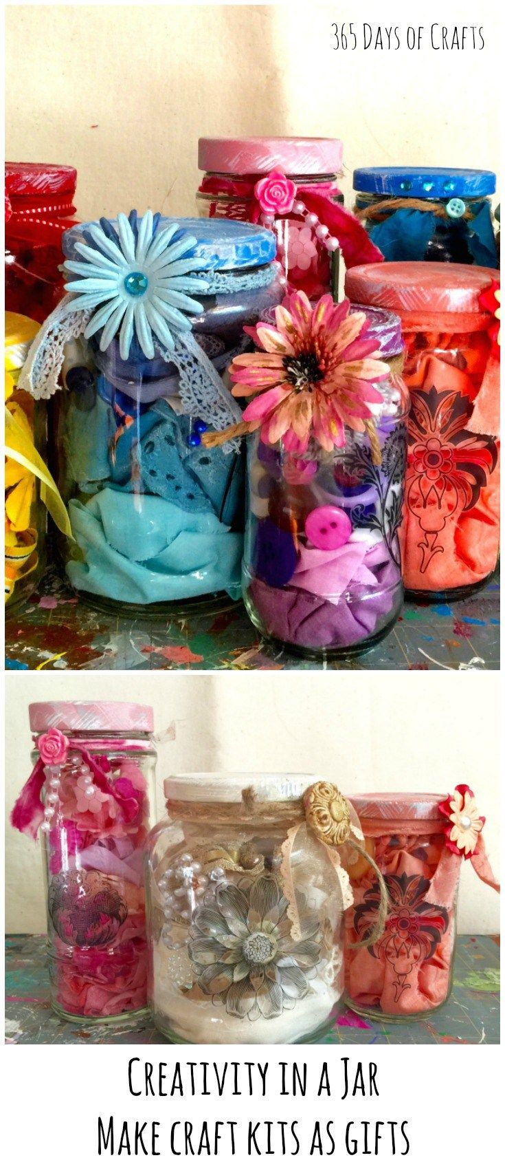 Craft kits creativity in a jar perfect for a valentine gift easter craft kits creativity in a jar perfect for a valentine gift easter gift or birthday negle Images