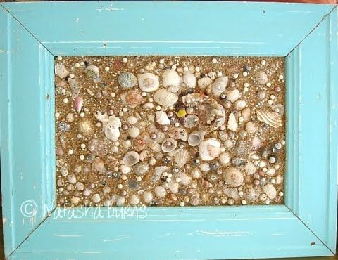 Diy shell art ideas from framing shells to making shell for Seashell art projects