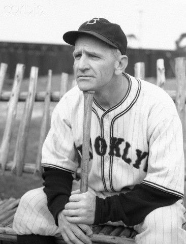 Brooklyn Dodgers Manager Casey Stengel at Spring Training