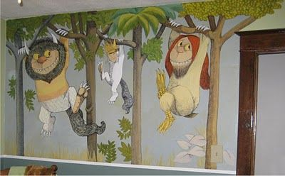Where the Wild Things Are Mural for one of the boys The New