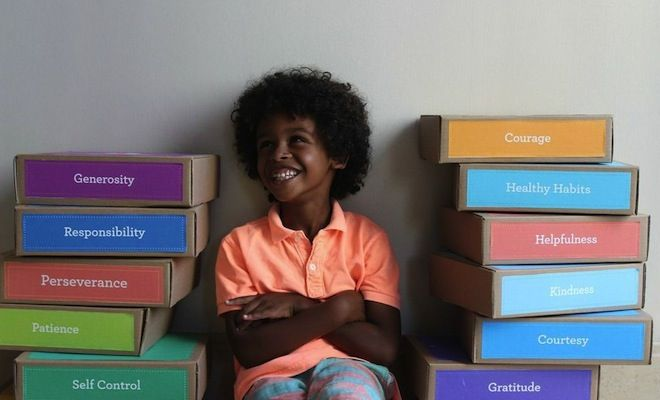 Happy Heart Kid Kickstarter campaign - character education kits for kids