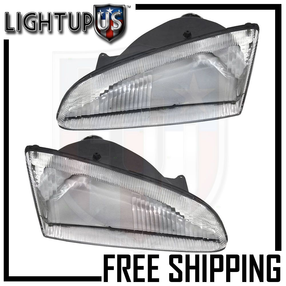 Details About Left Right Sides Pair Head Lights For 1995 1997 Dodge Intrepid Headlights Headlamps Dodge
