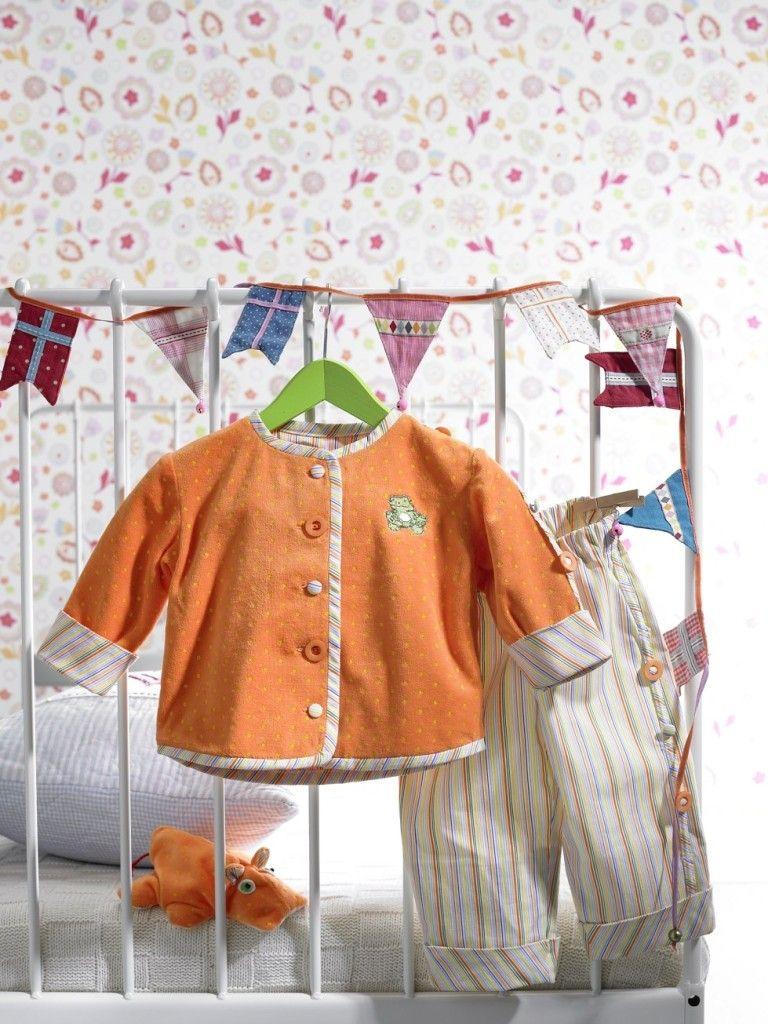 free pattern - kostenloses Baby-Jacke und Baby-Hose