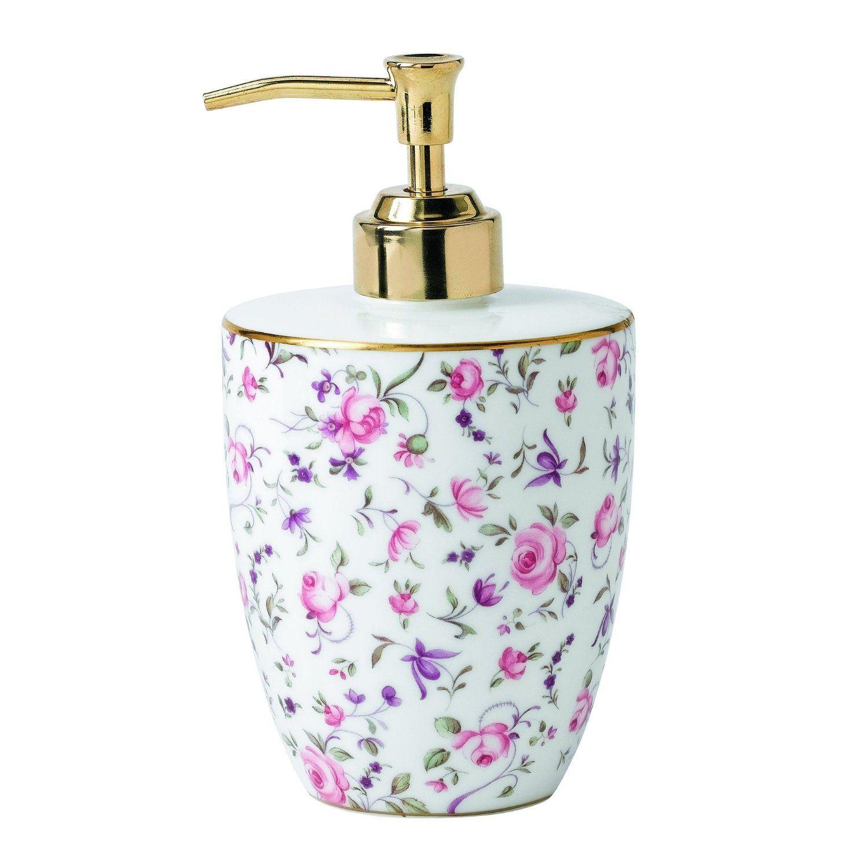 Royal Albert Soap Dispenser, Rose: Amazon.co.uk: Kitchen & Home ...