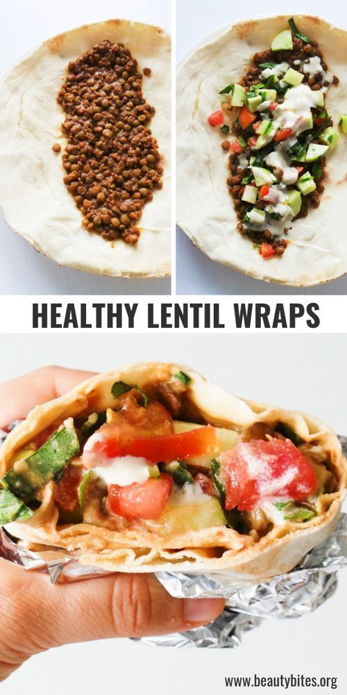 Vegan Lentil Wraps 3.0. - Beauty Bites