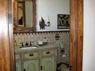 Image Detail For Delicious Mexican Style Bathroom With Subway Tile Lied Vertically