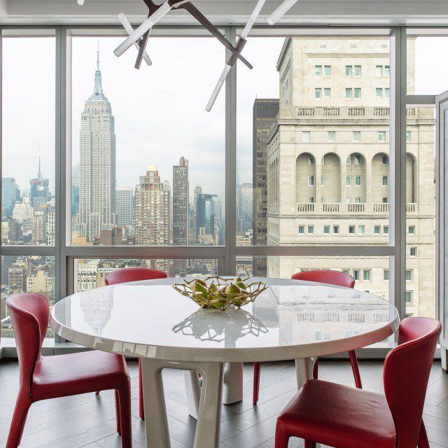 nice Salle à manger - Une salle à manger élégante et moderne avec - salle a manger design moderne