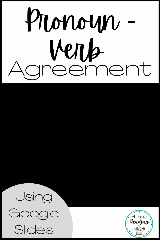 Pronoun Verb Agreement Video Technology Lessons Teacher Resources Second Grade Resources [ 1500 x 1000 Pixel ]