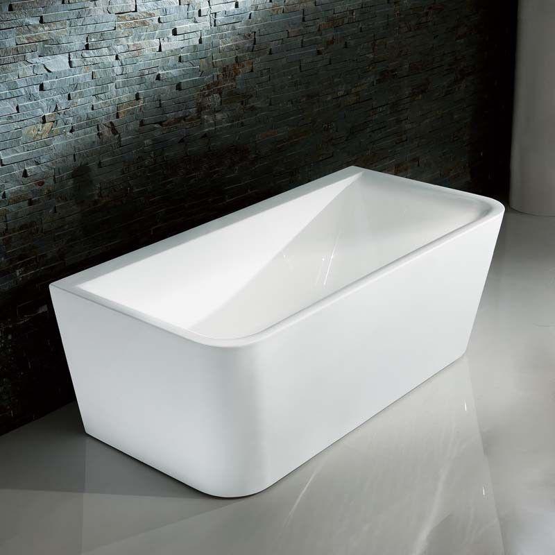 Baignoire ilot design pour salle de bain contemporaine 160x80 cm ...